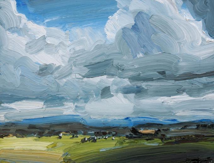 oil on canvas - 45 x 35 cm